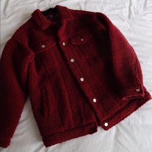 Jackets & Blazers - Misguided Sherpa jacket